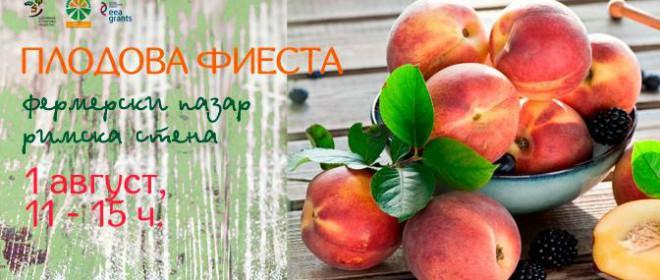 Плодова фиеста на Римската стена – София
