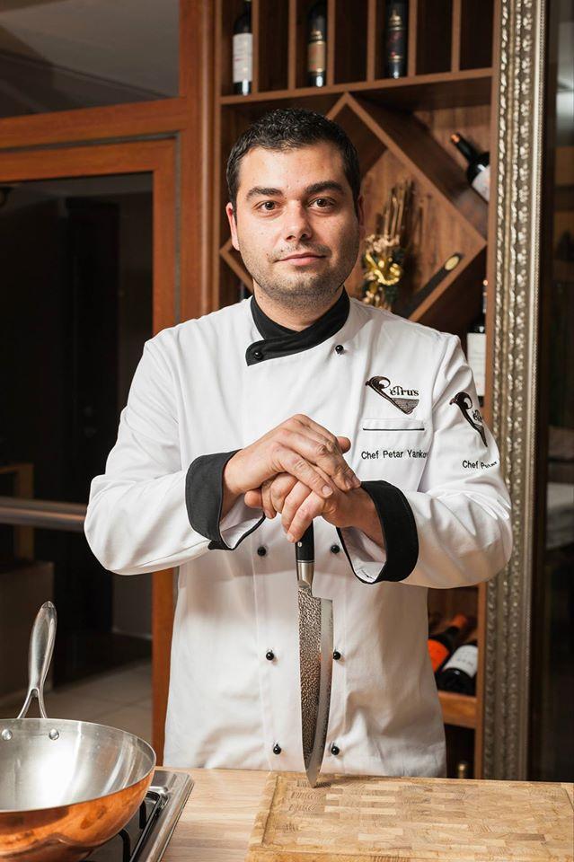 Петър Янков - Собственик и шеф готвач на ресторант Петрус, София