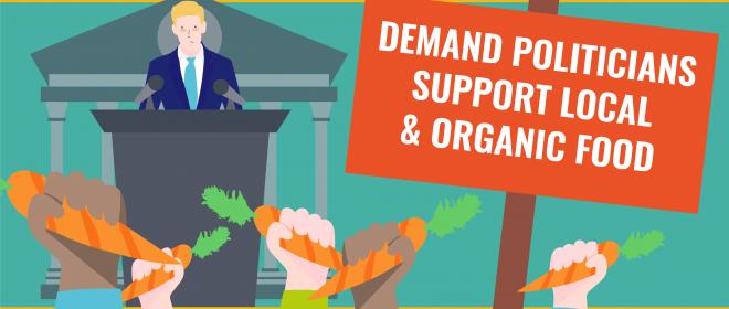 Отново и отново призоваваме политиците да променят селскостопанската политика в ЕС! #ДобраХранаДоброЗемеделие